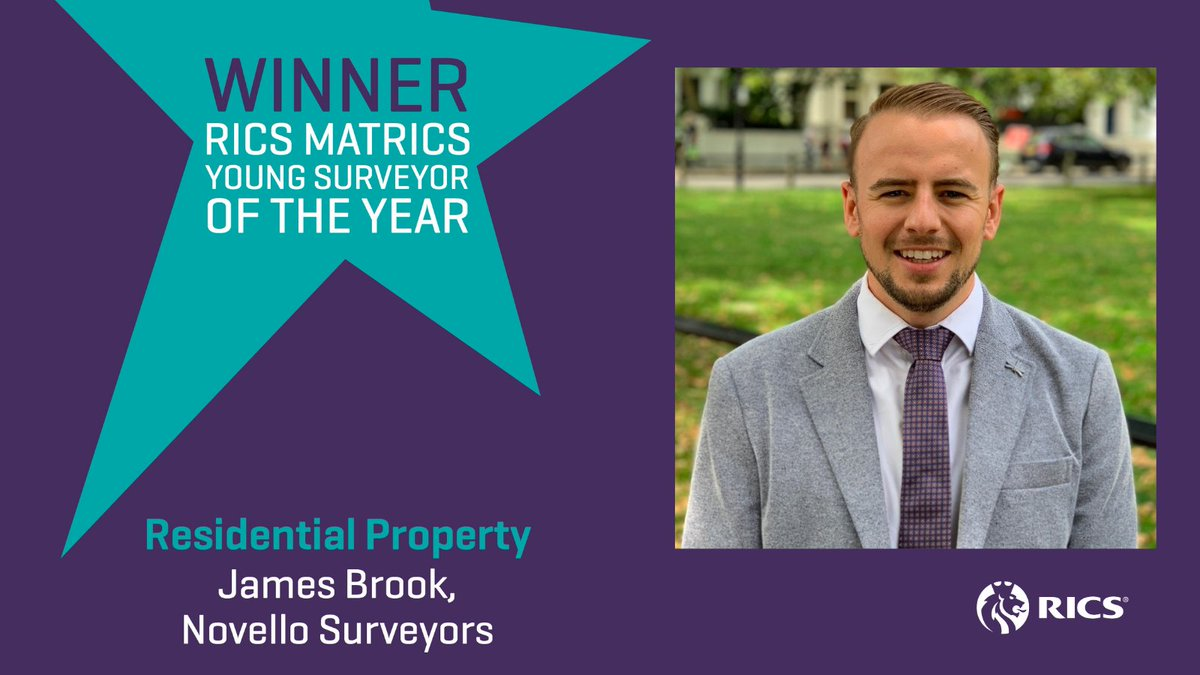 James Brook RICS Young Surveyor of the Year